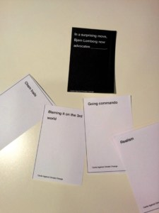 Cards Against Climate Change